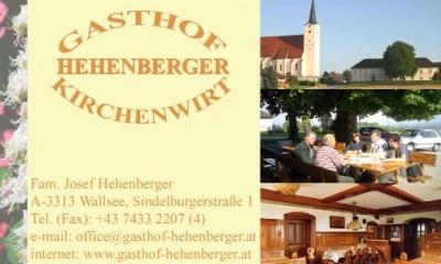 Gasthof Kirchenwirt Hehenberger