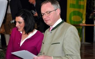 Am Foto (v.l.n.r.): EU-Abgeordnete Elisabeth Köstinger, LR Stephan Pernkopf
