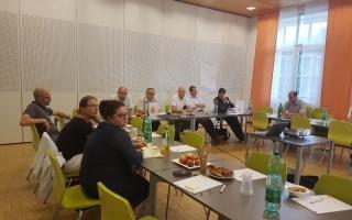 Eindrücke von Sitzung 1 der Arbeitsgruppe WOHNEN mit den TeilnehmerInnen in Öhling